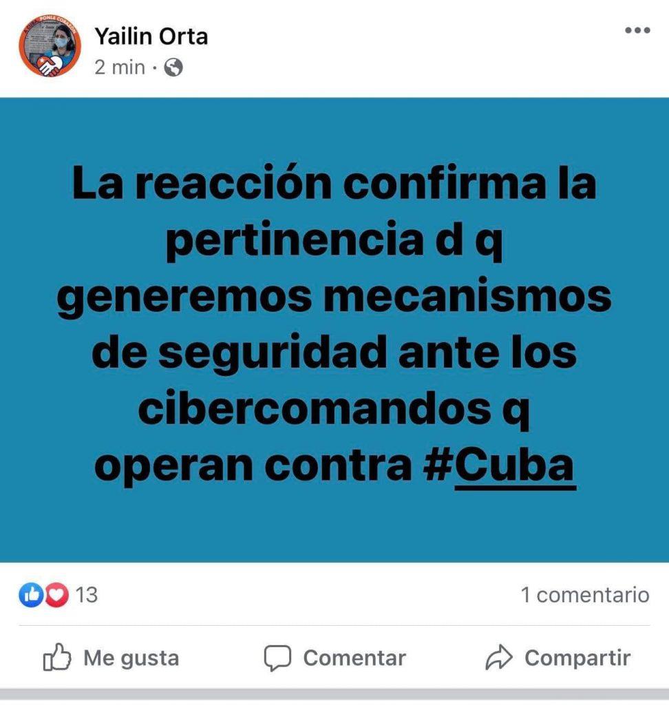 Yailín Orta, Directora del Granma, sobre Decreto-Ley 35