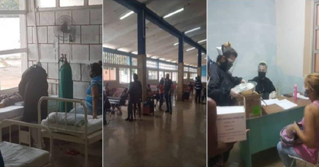 COVID-19 obliga en Cuba a transformar terminales en hospitales