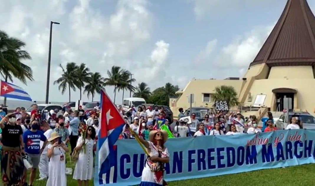 peregrinación de la Ermita a la Pequeña Habana