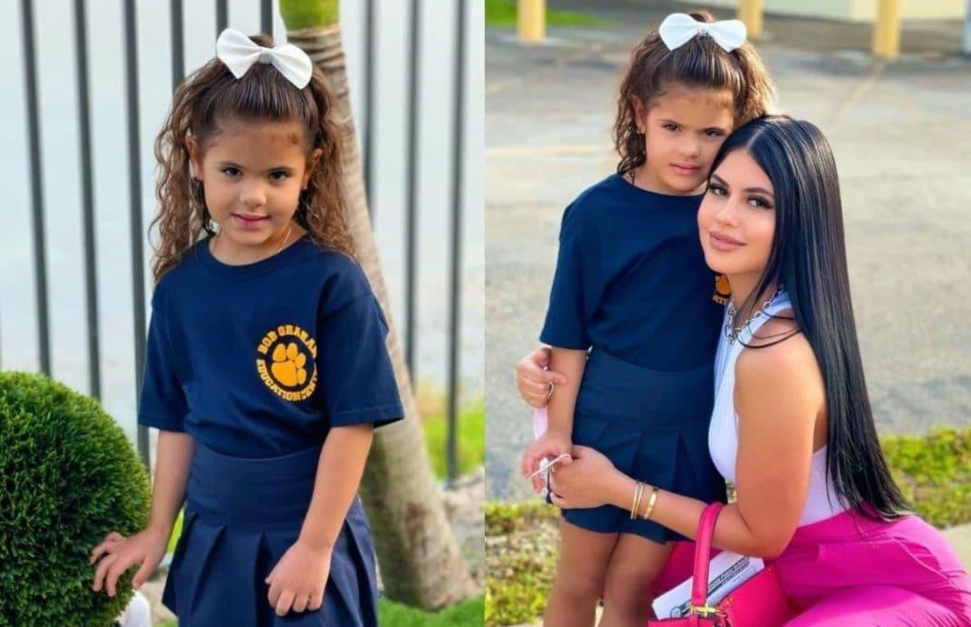 La Dura hija Saisha primer día de clases