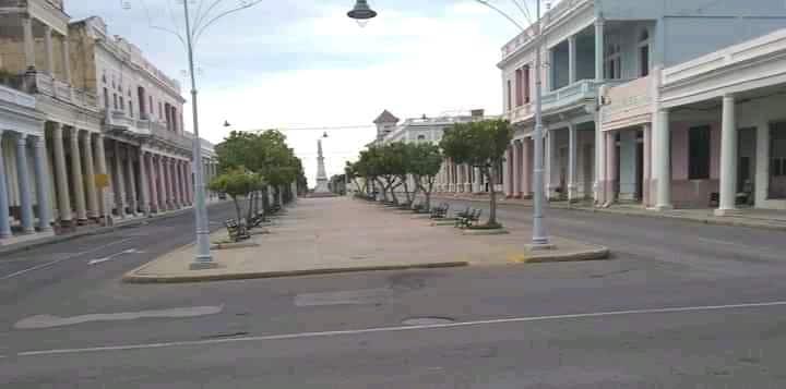 Cienfuegos es una ciudad desolada por la Covid