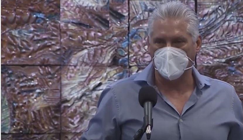 Díaz-Canel no reconoce su culpa