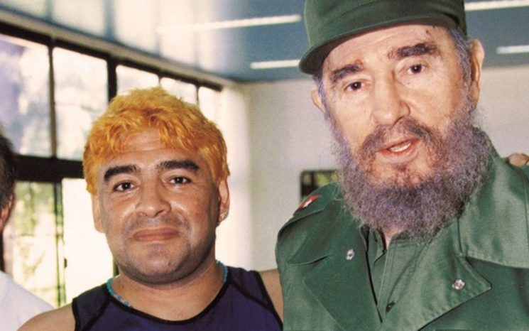 Revelan otro sórdido romance de Maradona en Cuba