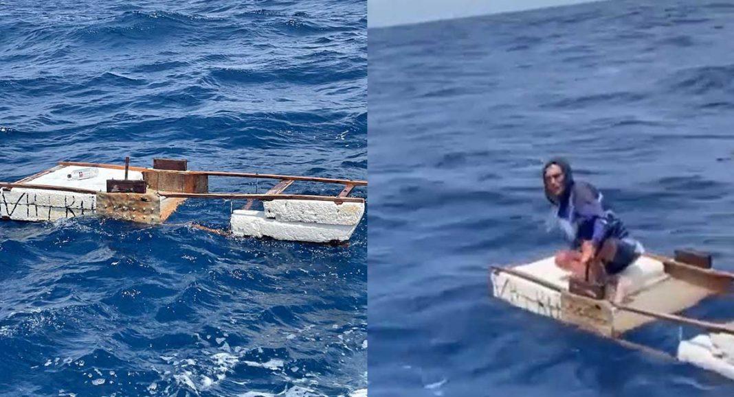 Guardia Costera salva a cubano