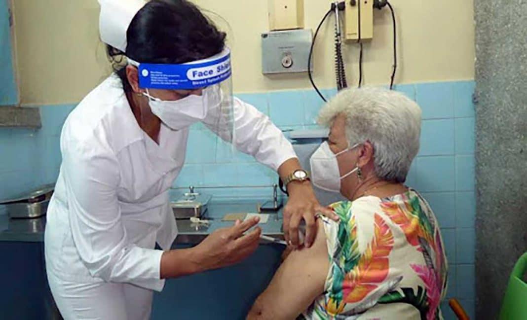 población inmunizada en Cuba