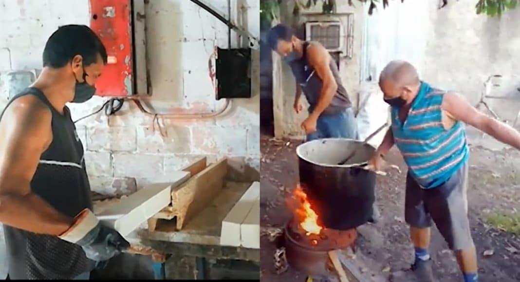 jabón artesanal en Cuba