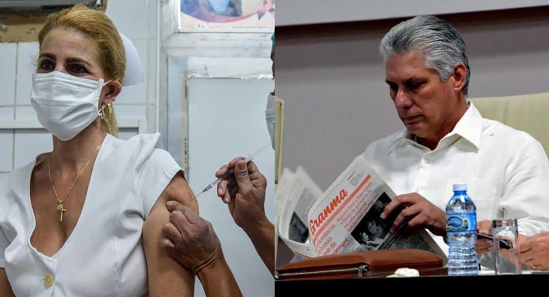 Canel promete 92% de inmunizados en noviembre