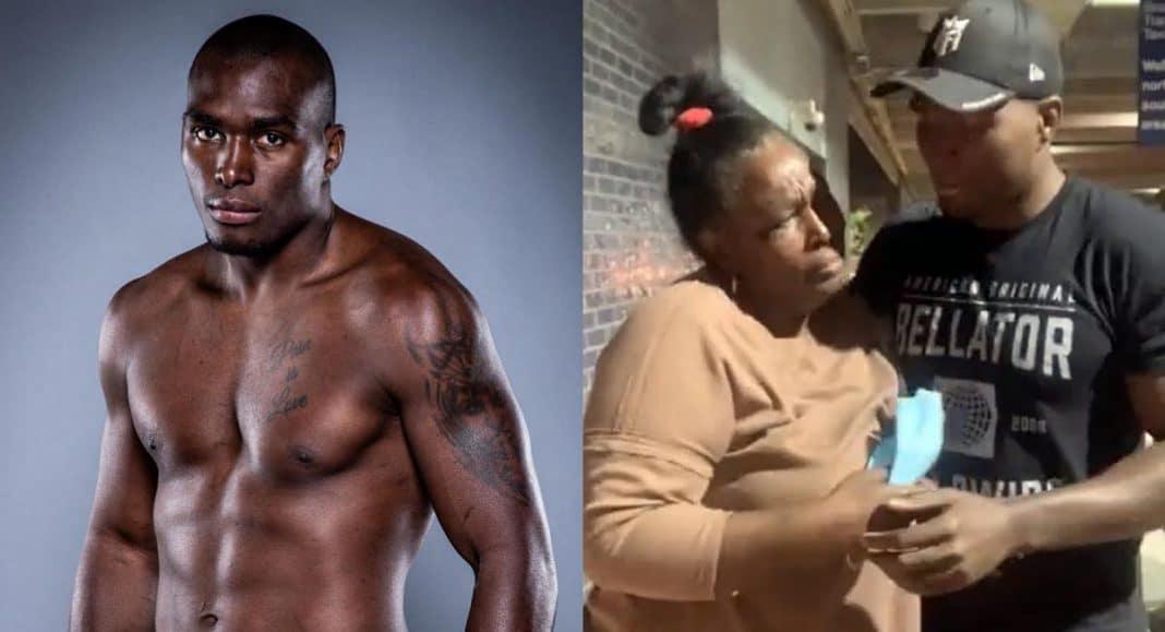 madre de peleador cubano cruzó el Darién