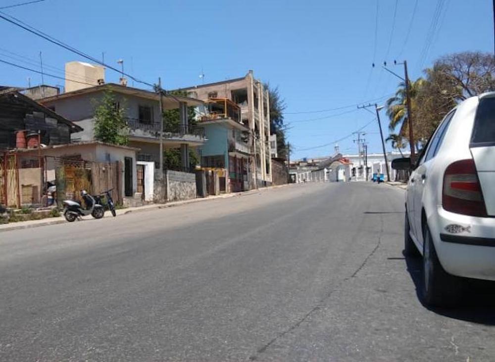 calle desolada de El Cerro