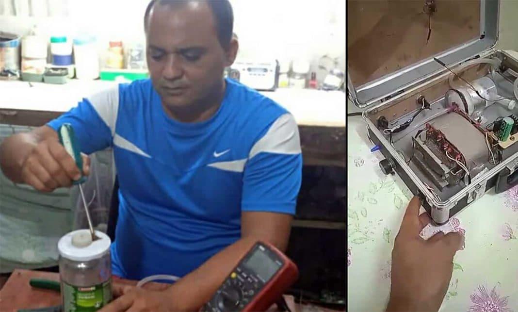 Cubano creó dispositivo para salvar a su esposa con COVID