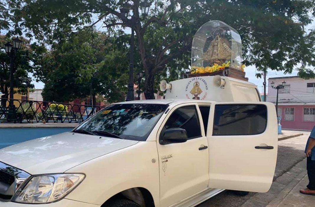 Virgen de la Caridad recorre barrios de Santiago