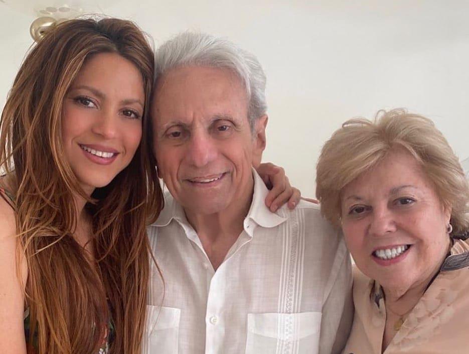 Shakira felicitación cumpleaños padre
