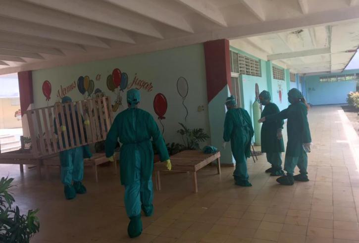 Colapso sanitario en Cuba