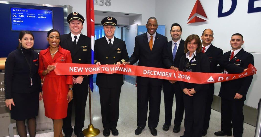 Aerolíneas como Delta esperan más vuelos a Cuba a partir del 15N desde EEUU.