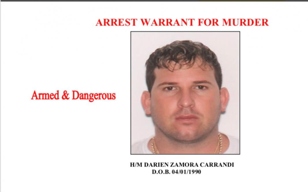 La policía identifica a Darién Zamora