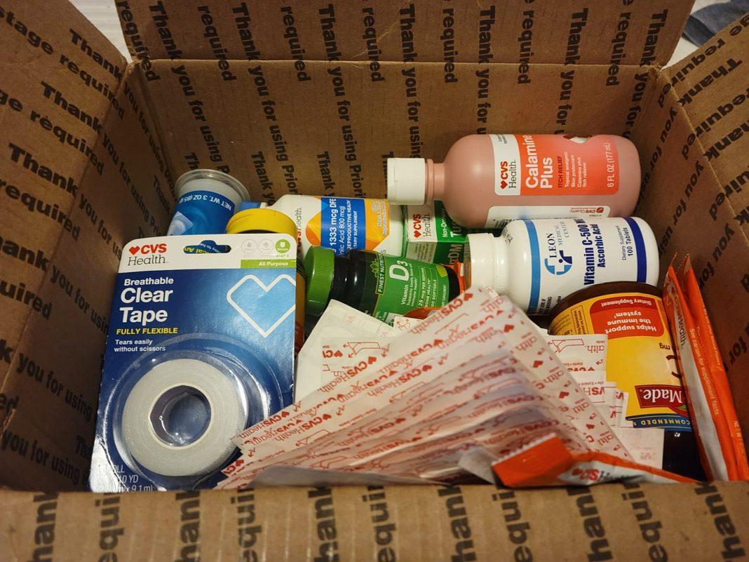 Otros paquetes con medicinas incluso que no son entregados en Cuba