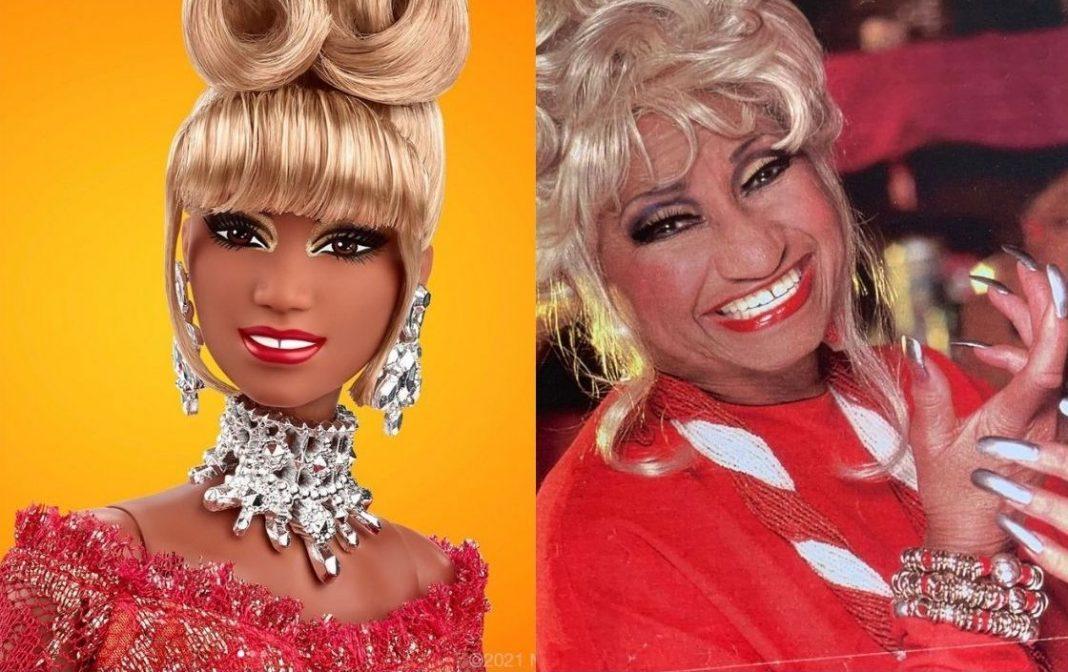Celia Cruz muñeca Barbie