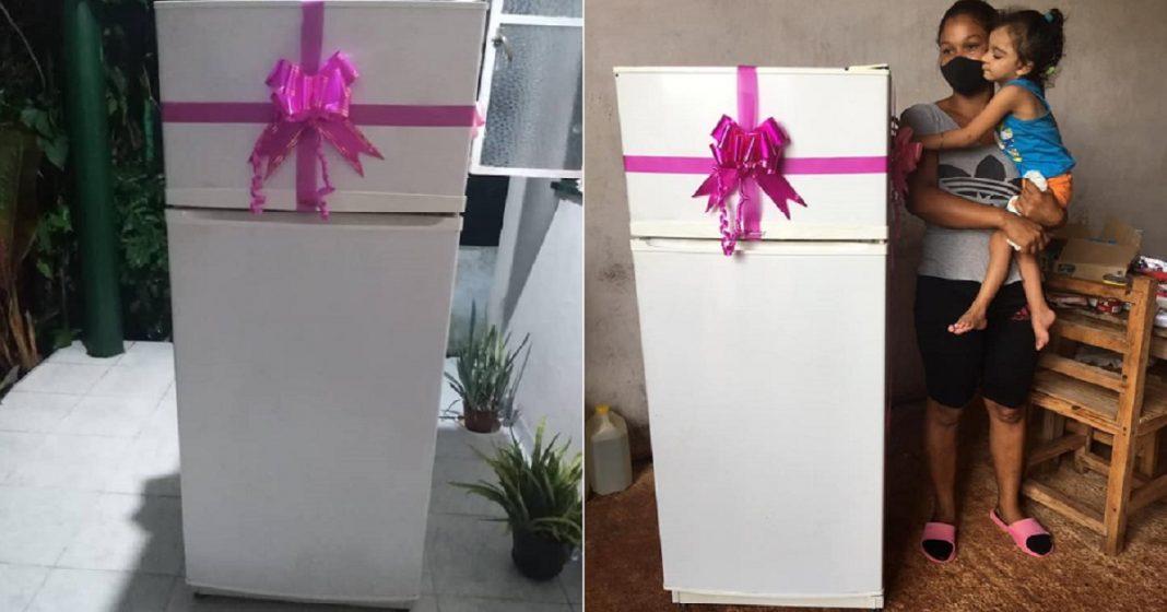 Cubanos logran hacer la diferencia con la compra de un refrigerador