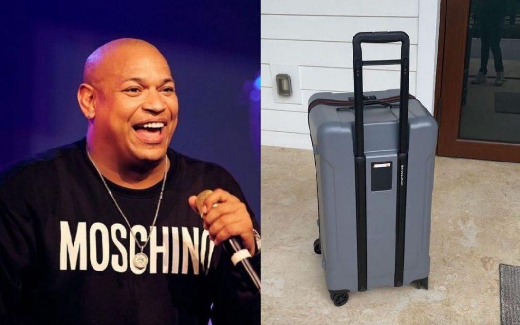 Alexander Delgado maleta perdida