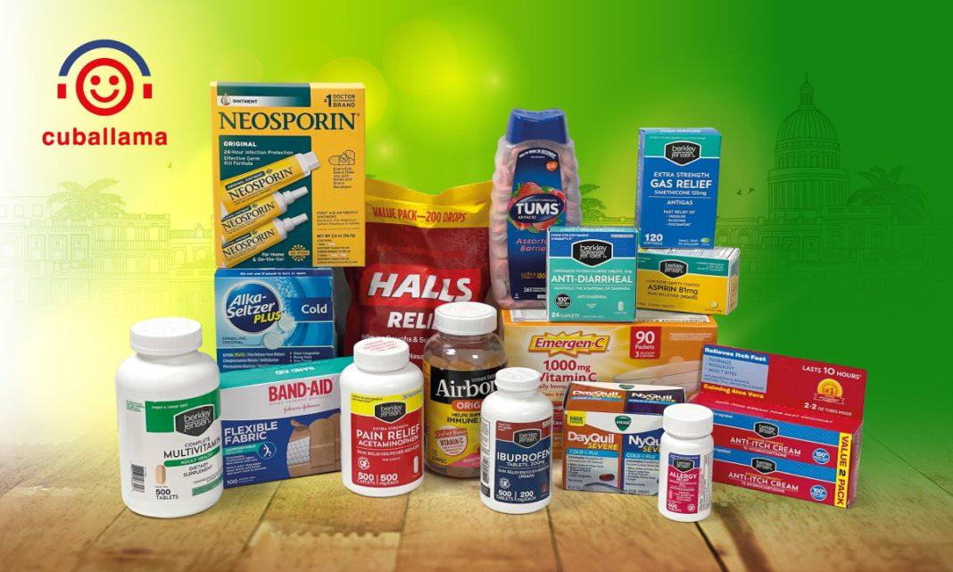 Medicinas que se pueden enviar con Cuballama