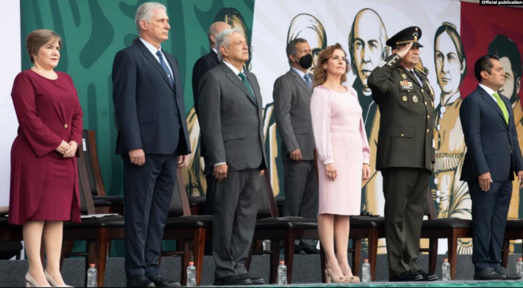 En la delegación a México estuvo el general de Brigada López-Callejas