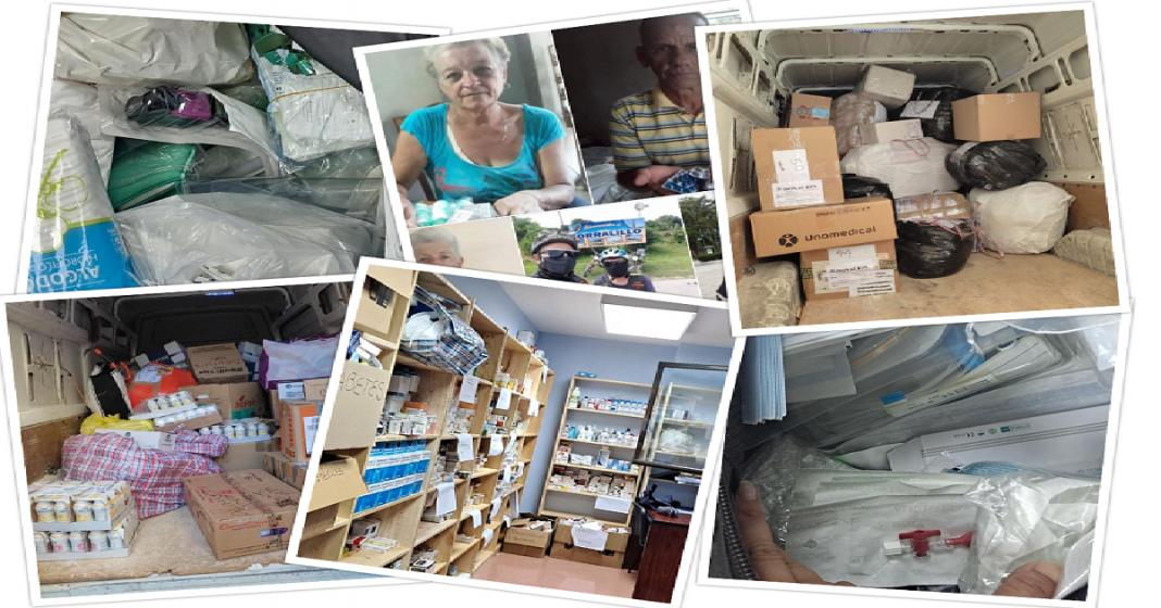 Activistas continúan con su labor y enviando medicinas a Cuba