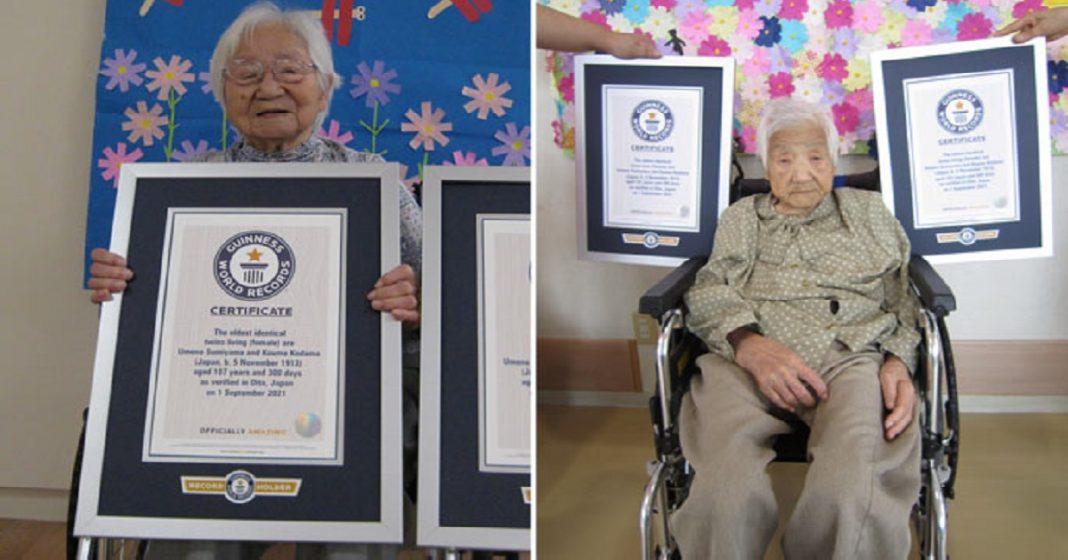 Las gemelas idénticas más longevas del mundo están en Japón