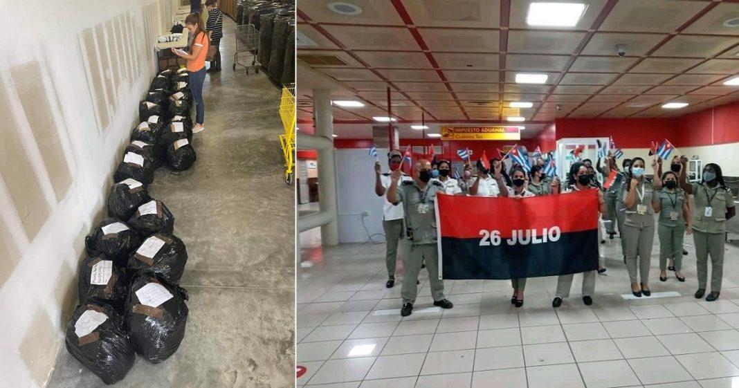 640 libras de medicinas permanecen retenidas desde julio en la Aduana de Cuba
