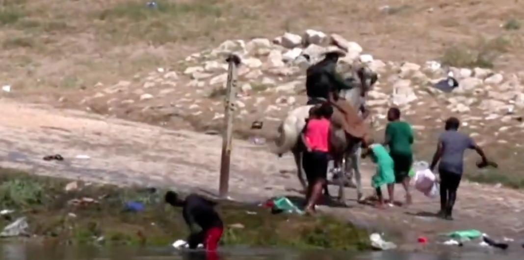 Migrantes haitianos en Texas