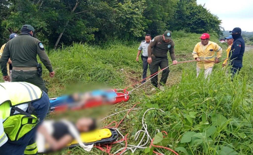 Cuatro migrantes cubanos mueren en un accidente, en Veracruz, México