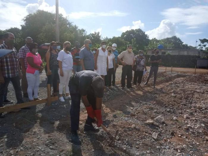 Un Consejo Popular olvidado, recibe la visita de funcionarios de La Habana