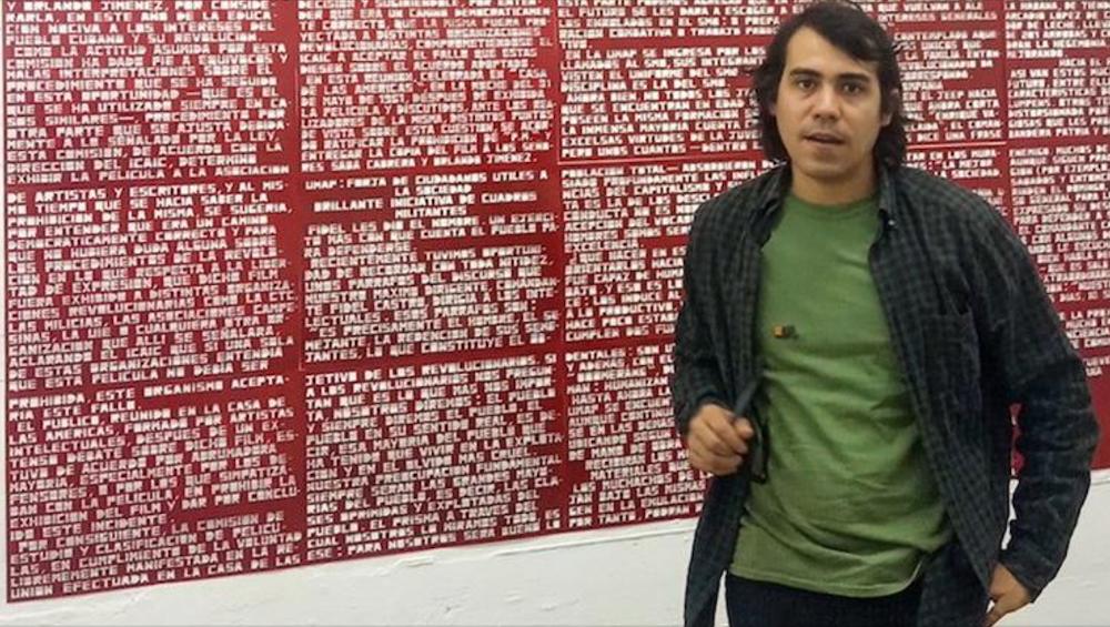 Artistas como Lavastida son reprimidos por el régimen cubano.
