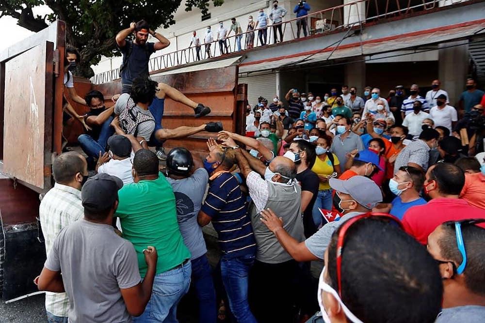 El gobierno de la isla teme a las protestas pacíficas