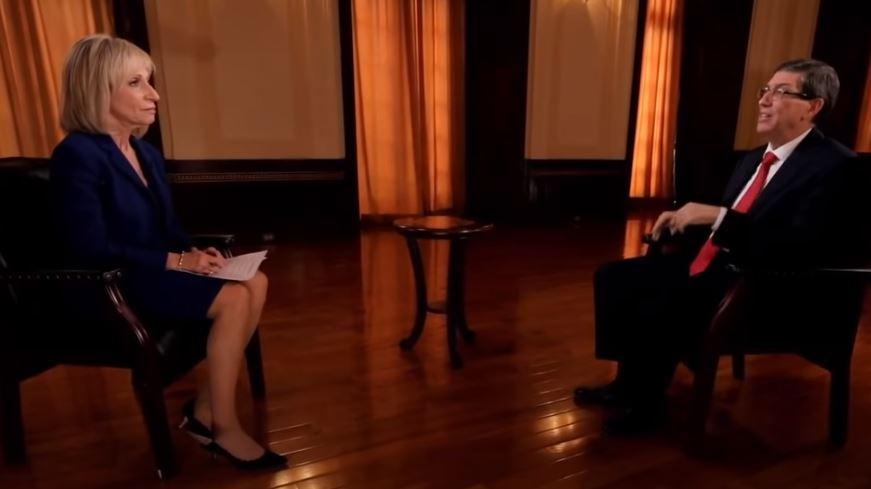 Bruno Rodríguez concede entrevista a medio norteamericano
