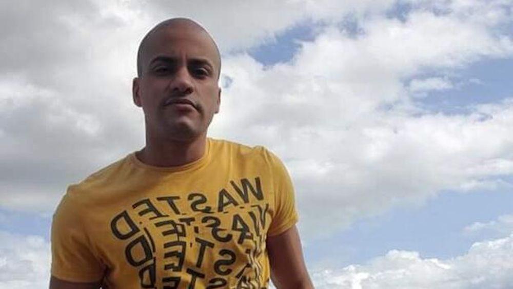 Yoan Cruz filmó protestas en San Antonio de los Baños