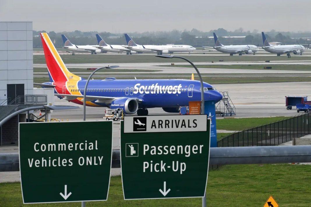 Muchas cancelaciones de vuelos de Southwest Airlines durante el fin de semana