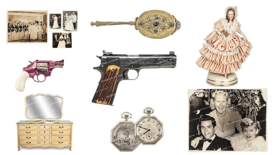 La casa Witherell's organizó la subasta con objetos de Al Capone