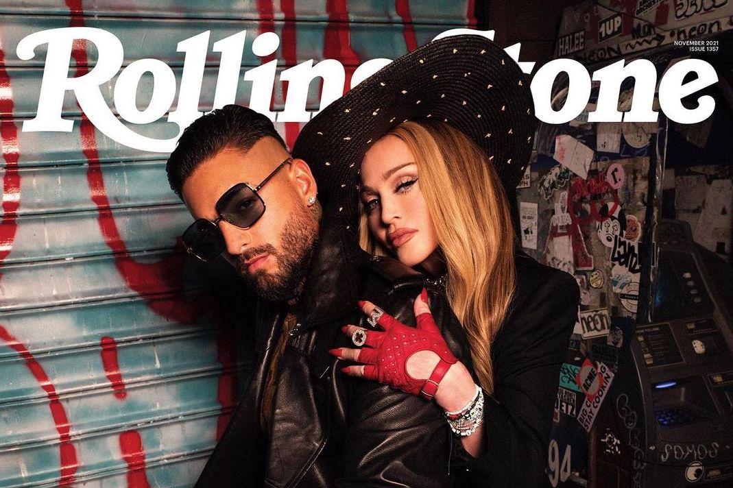 Maluma y Madonna en Rolling Stone